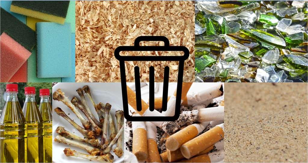 Frakcje odpadów